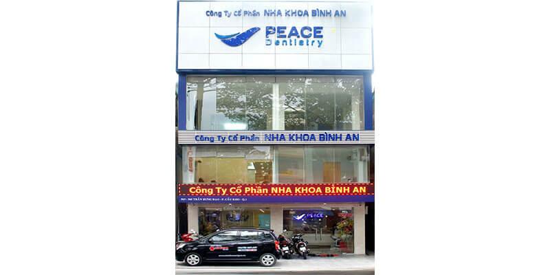 nha khoa peace dentistry chuyên cấy implant ở quận 1