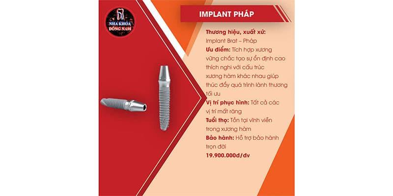 tổng quan trụ implant brat