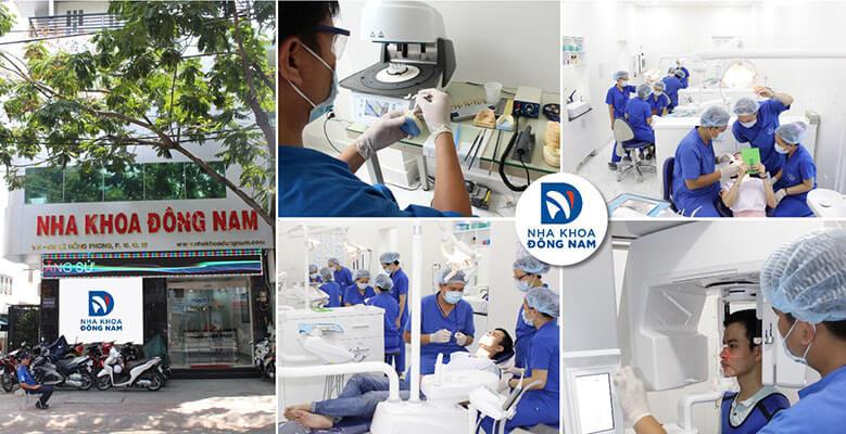 trồng răng implant tốt tại nha khoa Đông nam