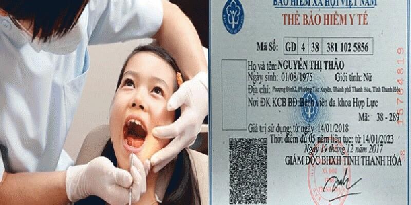 trồng răng có được hưởng bảo hiểm y tế không