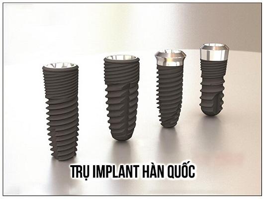 Trụ Implant Hàn Quốc Là Gì